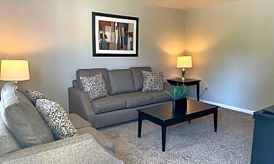 Living Room, Morgan Place, 1