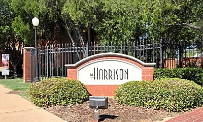 Community Signage, The Harrison, 2