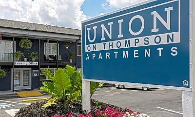 Community Signage, Union on Thompson, 2