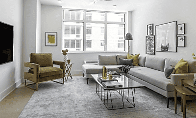 Living Room, 7608 River Rd, 1