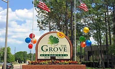 Community Signage, The Grove at Deerwood, 0