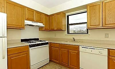Kitchen, Silver Ridge Apartments, 1