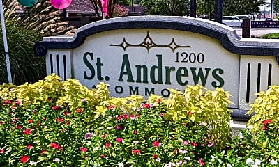 Community Signage, St. Andrews Commons, 2