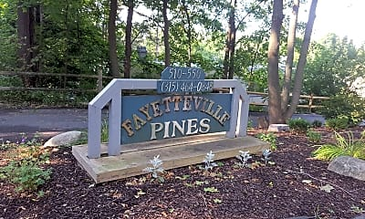 Fayetteville Pines Townhouses, 1