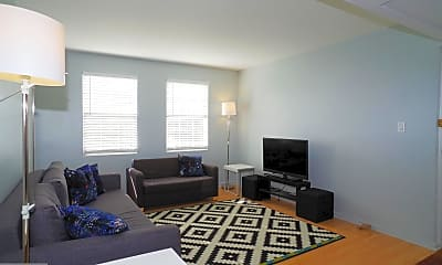 Living Room, 6616 Boulevard View A2, 1