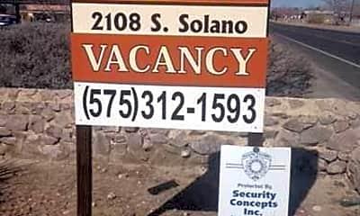 Community Signage, 2108 S Solano Dr, 2