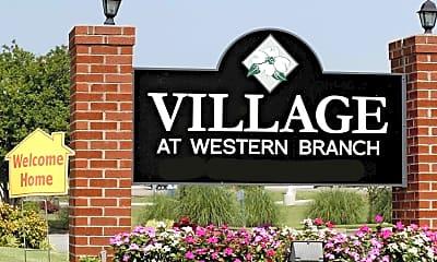 Community Signage, Village at Western Branch, 2