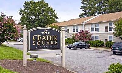 Community Signage, Crater Square & First Colony Apartments, 2