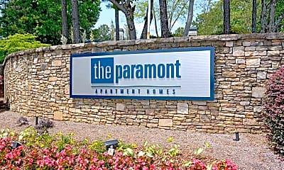 Community Signage, The Paramont, 2