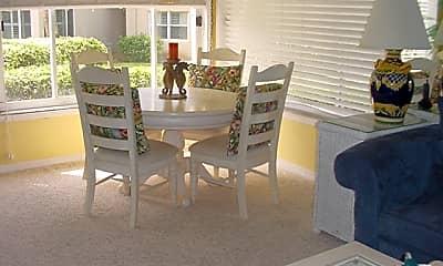 Dining Room, 1475 NE OCEAN BLVD UNIT-17, 1