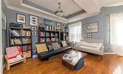 Living Room, 1030 W Byron St, 1