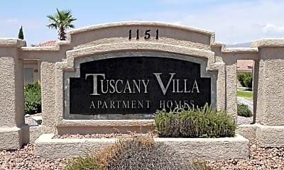 Community Signage, Tuscany Villa And Estates, 2