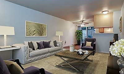Living Room, 640 SW 150th Ave, 0