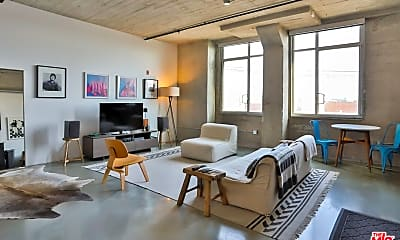Living Room, 825 East 4th St 407, 0
