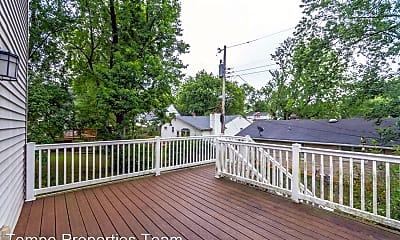 Patio / Deck, 206 E 20th St, 2