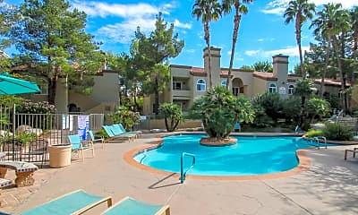 Pool, Laguna Palms Condominiums, 1