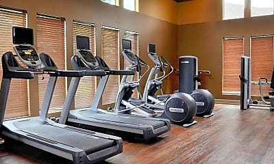 Fitness Weight Room, Lambertson Farms, 2