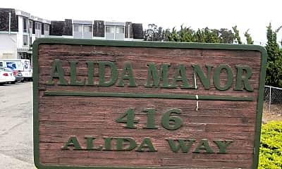 Alida Manor, 1