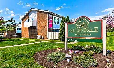 Community Signage, Allendale, 2