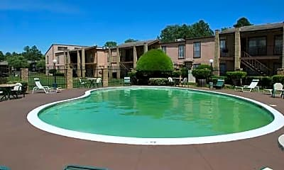 Pool, Timbercrest Apartments, 0