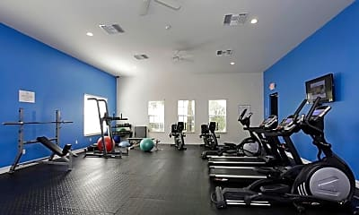 Fitness Weight Room, Orchid Grove Townhomes, 2