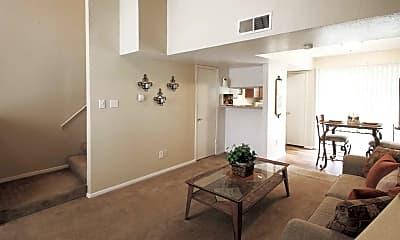 Living Room, Williamsburg Apartments, 1