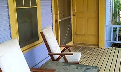 Patio / Deck, 3502 Duval St, 0