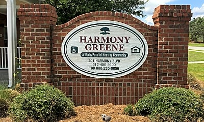 Harmony Green, 1