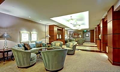 Living Room, 2500 Sixth Ave PH5, 1