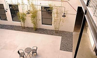Courtyard, The Warehouse Lofts, 2