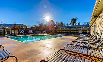 Pool, Marion Ridge Apartments, 2