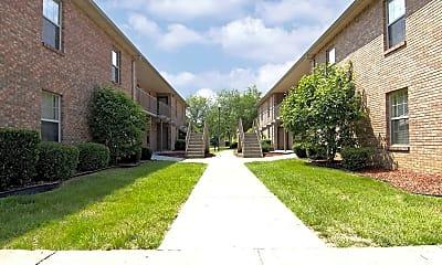 Building, Park Place Apartments, 1