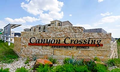 Community Signage, Canyon Crossing Apartments and Duplexes, 2