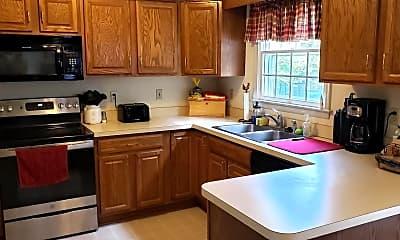 Kitchen, 201 Frederick Dr, 1