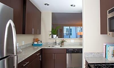 Kitchen, Park Place South, 1