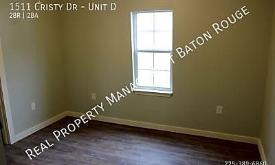 Bedroom, 1511 Cristy Dr - Unit D, 2