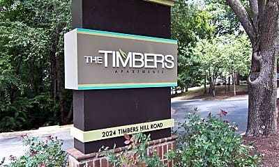 Community Signage, The Timbers, 1