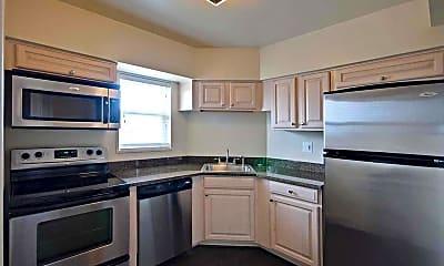Kitchen, Towson Place Apartments, a Student Community, 1