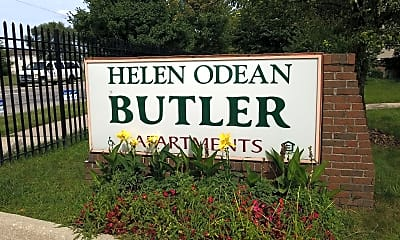 Helen Odean Butler Apartments, 1