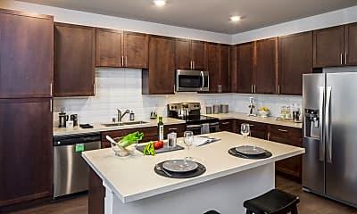 Kitchen, IMT Residences at Riata, 0
