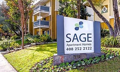 Community Signage, Sage At Cupertino, 1