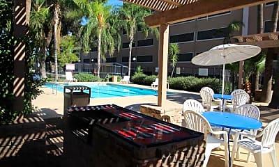 Pool, Catalina Towers, 2