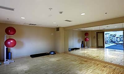 Fitness Weight Room, Verve Apartments, 2