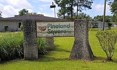 Pineland Square Apartments, 1