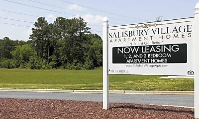 Community Signage, Salisbury Village at Castlewood, 2