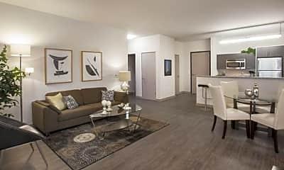 Living Room, Longfellow Lofts, 2