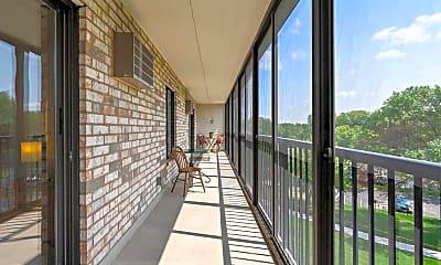 Patio / Deck, 10411 Cedar Lake Road Unit 517, 2