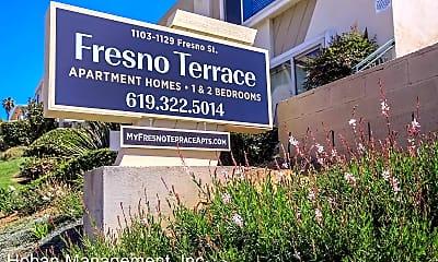 Community Signage, 1103 Fresno St, 1