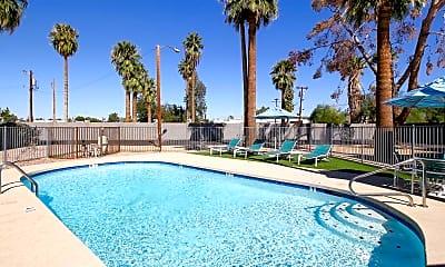 Pool, Fairmount Apartments, 0