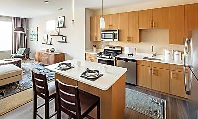 Kitchen, Avalon Union, 1